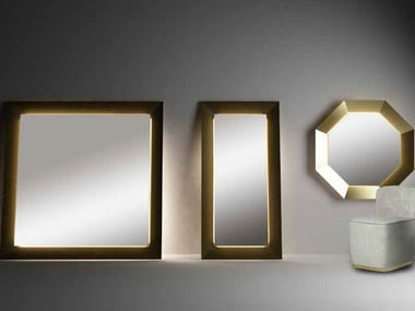 Mirror with integrated lighting BEST WORLD