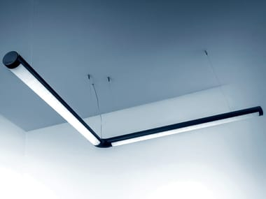 LED extruded aluminium pendant lamp BETA