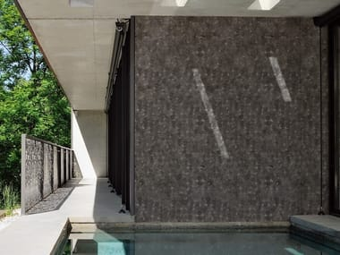 Outdoor wallpaper BETON BRUT