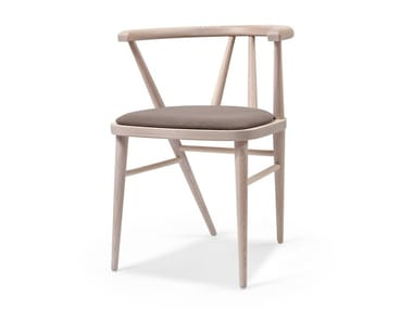 Upholstered wooden chair BETTE EST