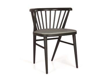 Upholstered wooden chair BETTE LIRAS EST