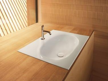 Vasque à encastrer rectangulaire BETTECOMODO   Vasque à encastrer