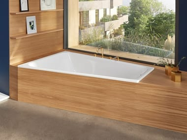 2 seater built-in steel bathtub BETTESPACE L