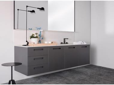 Wall-mounted vanity unit BÉTULA
