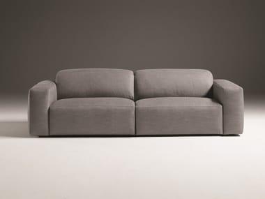 Divano relax sfoderabile in tessuto a 3 posti BEVERLY | Divano in tessuto