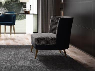 Fabric easy chair BIBLO | Fabric easy chair
