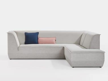 Sectional fabric sofa BIG ISLAND | Sectional sofa
