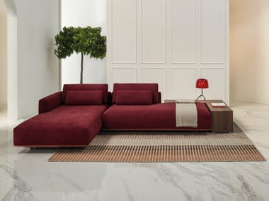 Sectional sofa with removable cover BILLIE | Sectional sofa