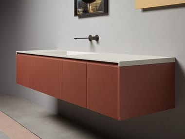 Wall-mounted vanity unit BINARIO