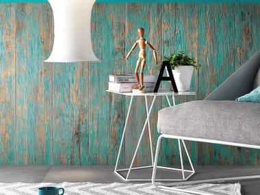 Pavimento in gres porcellanato effetto legno BIO RECOVER GOLDEN FLAME FULL