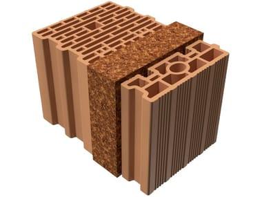 Thermal insulating clay block BIO TRIS® 37X25X25
