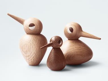 Oak decorative object / game BIRD