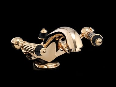 Countertop 1 hole washbasin tap BLACK DIAMOND | Countertop washbasin tap