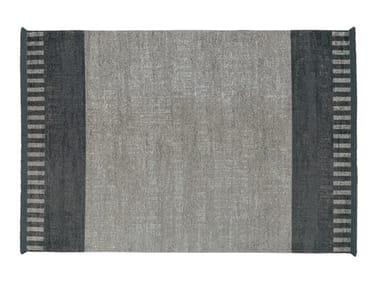Rectangular rug BLACK & WHITE