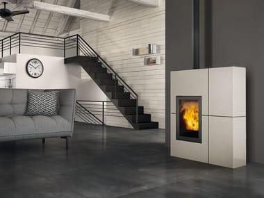 Pellet steel stove BLADE | Steel stove