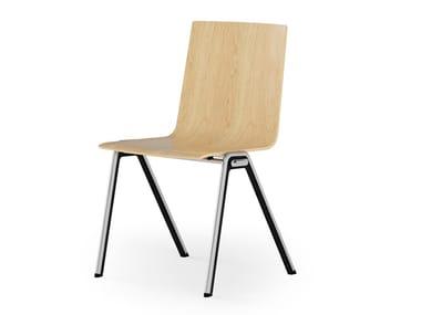 Wooden chair BLAQ WOOD | Chair