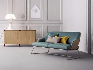 Upholstered fabric sofa BLAZER SOFA