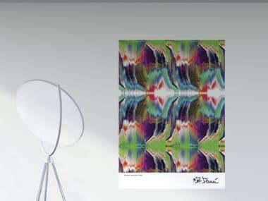 Optical PVC wall sticker SCRATCH | Poster
