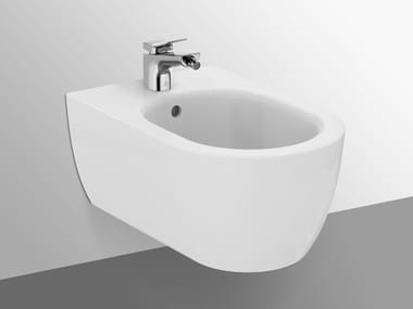 Wall-hung ceramic bidet BLEND - T375001
