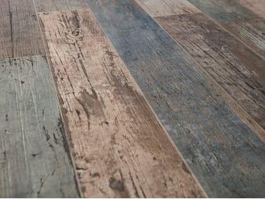 Pavimento/rivestimento in gres porcellanato effetto legno BLENDART MIX