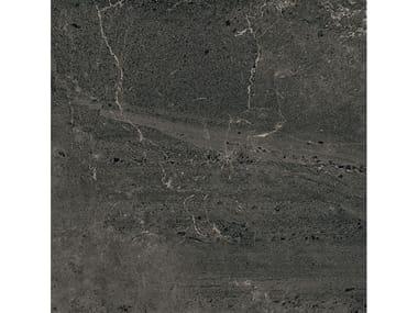 Pavimento/rivestimento in gres porcellanato effetto pietra BLENDSTONE GRAPHITE