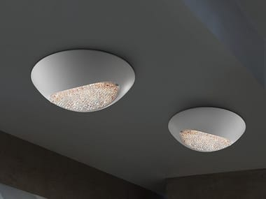 LED aluminium ceiling light with Swarovski® crystals BLINK LED PL42