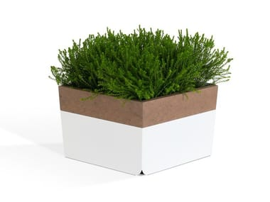 WPC Flower pot BLOCK | Flower pot