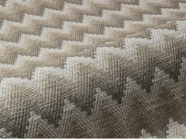 Upholstery fabric with graphic pattern BLOSSOM
