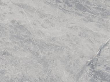 Pavimento/rivestimento in ceramica tecnica effetto marmo per interni ed esterni BLUE DE SAVOIE