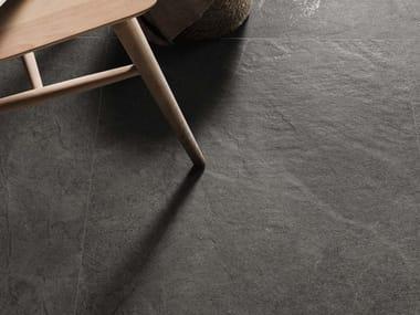 Pavimento/rivestimento in gres porcellanato effetto pietra BLUE SAVOY DG