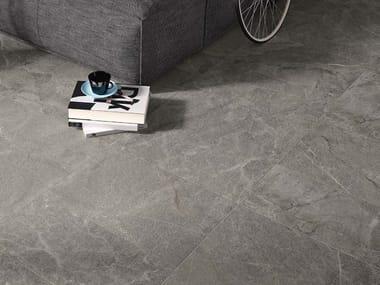 Pavimento/rivestimento in gres porcellanato effetto pietra BLUE SAVOY G