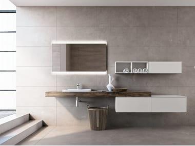 Plan de toilette / meuble pour salle de bain BLUES 2.02