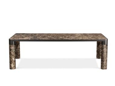 Tavolo da pranzo rettangolare in marmo BOLD | Tavolo in marmo