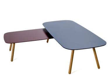 Tavolino rettangolare in MDF BONDO | Tavolino in MDF