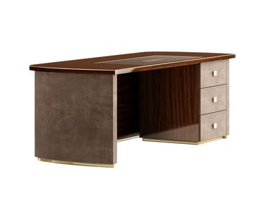 Rectangular executive desk with drawers RICHMOND UPON THAMES | Office desk