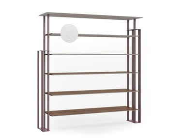 Open freestanding bookcase PLS | Bookcase