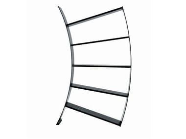 Aluminium bookcase VIRGO