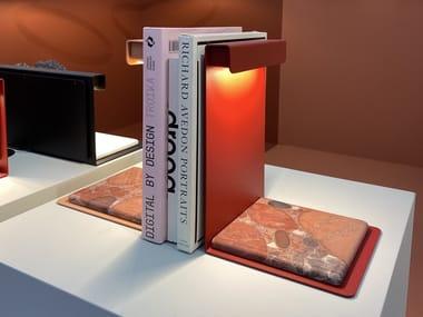 Aluminium table lamp / bookend PLI   Bookend