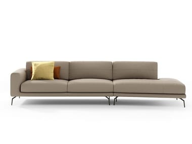 Sectional leather sofa BORA | Leather sofa