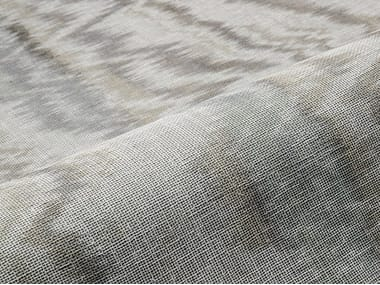 Fabric with graphic pattern for curtains BOREAL WLB