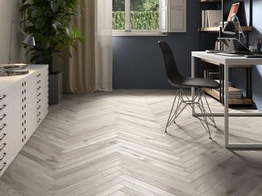 Indoor/outdoor porcelain stoneware wall/floor tiles with wood effect BOREALIS INARI