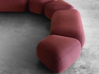 Modular fabric pouf BOTERA | Pouf