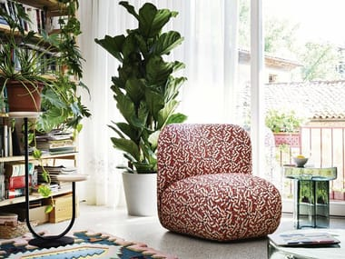 Fabric easy chair BOTERINA