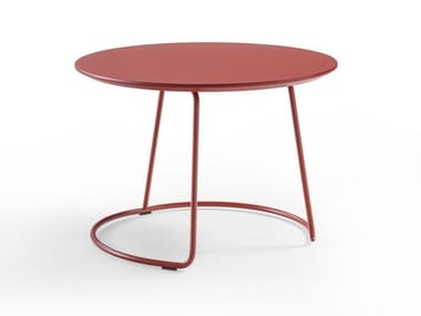 Round multi-layer wood coffee table BOTERO MIGNON | Round coffee table