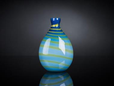 Glass bottle vase UNDER SEA | Glass vase