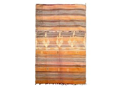 Patterned rectangular wool rug BOUJAD TA660BE