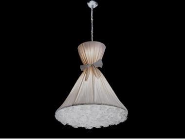 Lampada a sospensione a LED in tessuto BOUQUET | Lampada a sospensione