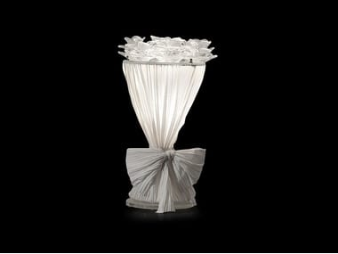 Lampada da tavolo a LED in tessuto BOUQUET | Lampada da tavolo