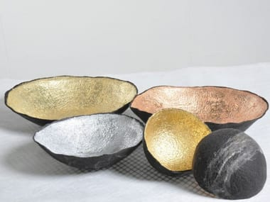 Wool felt serving bowl BOWLS