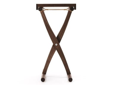 Square solid wood high side table BRANDINO | High side table